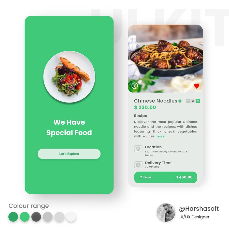 UI Design for Mobile Application