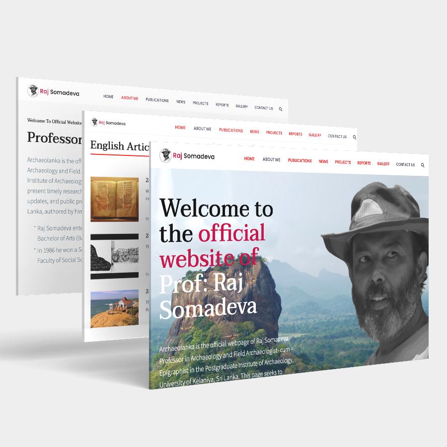 Raj Somadeva Official Website